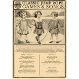 Extra-long Skipping Rope rhymes instructions