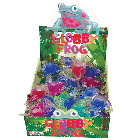 Globby Frogs all colours in box