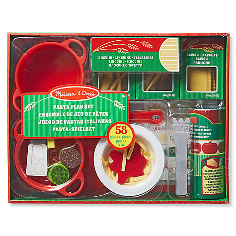 Melissa and Doug - Pasta Play Food Set, boxed