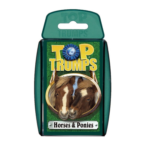 Horses and Ponies -Top Trumps Game, front of box