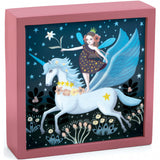 Fairy Unicorn - Magical Nightlight, night time scene