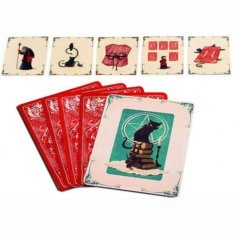 Animalium - Magic Trick by Djeco, cards displayed