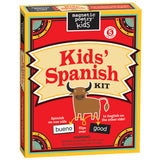 Magnetic Poetry Kids - Kids' Spanish Kit- Front of box