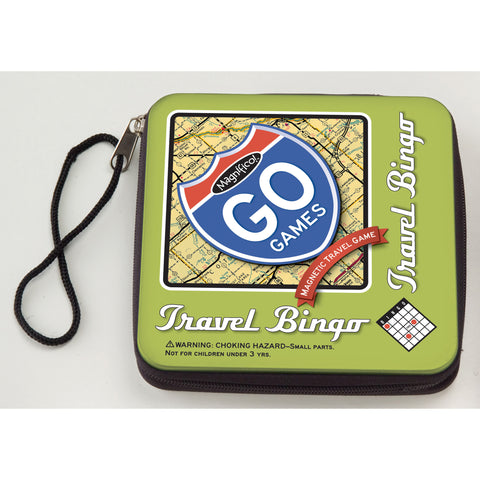 Travel Bingo - Magnetic Travel Game in case