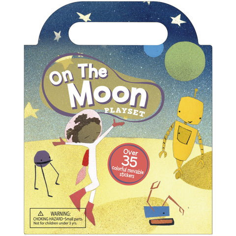 On The Moon - Sticker Playset