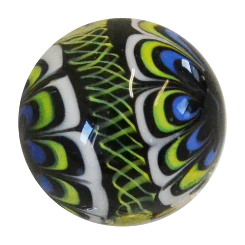 Handmade Rinky-dink marble (medium) 22mm