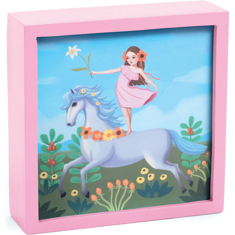 Fairy Unicorn - Magical Nightlight, day time scene