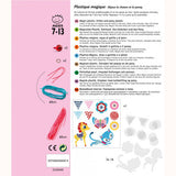 Kitten and Pony - Shrinkable Jewellery Set, back of pack