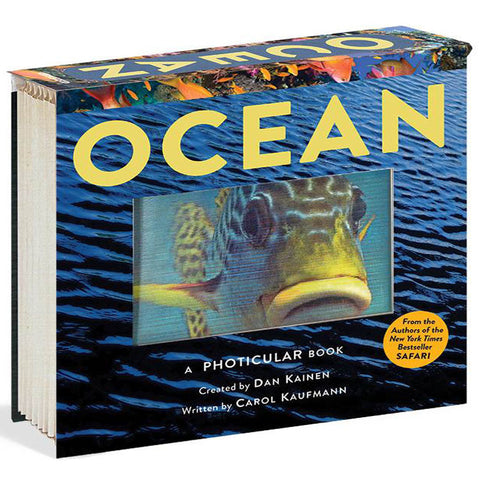 Ocean Photicular Book front