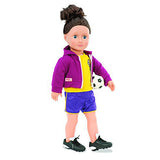Team Player (Football) - Our Generation Accessory modelled on doll
