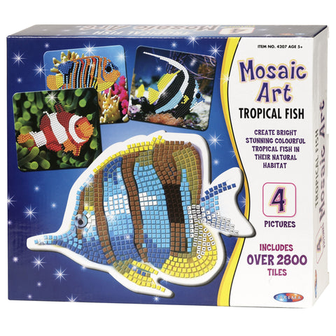 Mosaic Art - Tropical Fish