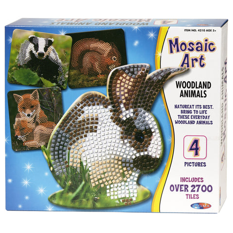 Mosaic Art - Woodland Animals