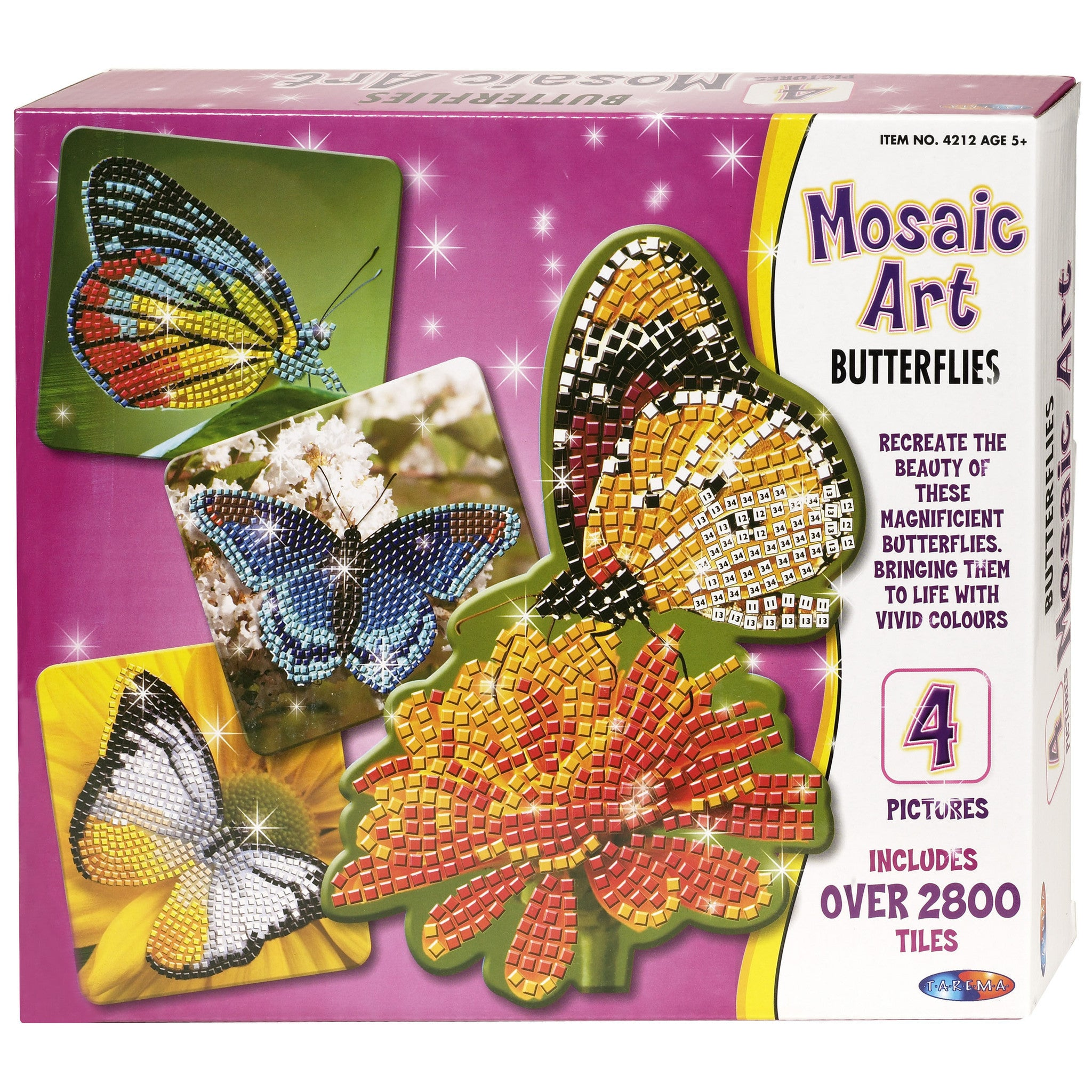 Mosaic Art - Butterflies