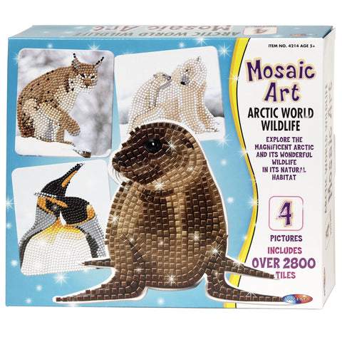 Mosaic Art - Arctic World Wildlife