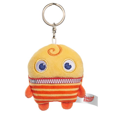 Bobbel the worry eater key ring