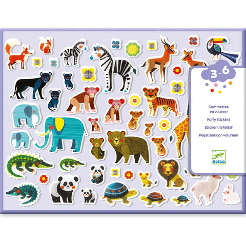 Mothers & Babies - Puffy Stickers, front of pack