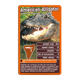 Deadliest Predators -Top Trumps Game, alligator card