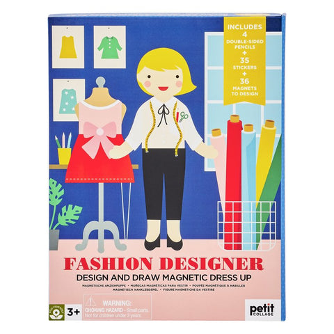 Fashion Designer - Design & Draw Magnetic Dress Up, boxed front view