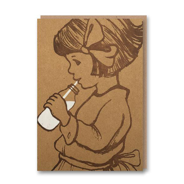 Milk - Belle & Boo Greeting Card