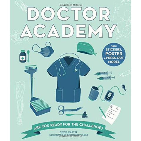 Doctor Academy front page