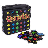 Qwirkle - Travel Size, case and tiles displayed