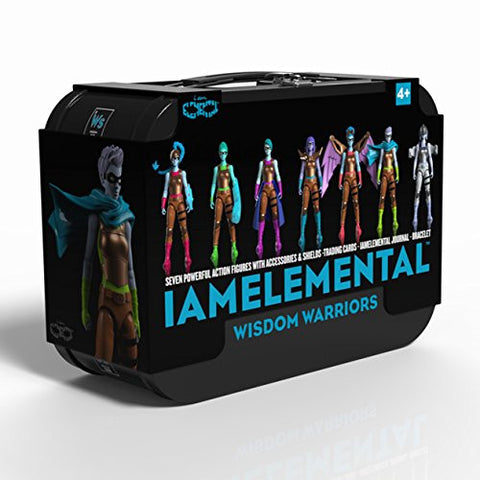 Series 2 / Wisdom Lunchbox with 7 Action Figures - IAmElemental, boxed
