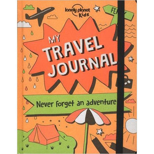 My Travel Journal - Lonely Planet Kids, front cover