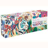 Rainbow Tigers Gallery Puzzle, boxed side angle