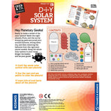 DIY Solar System, back of box text