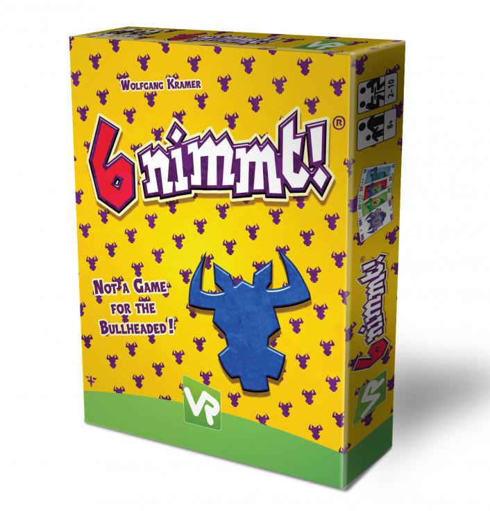 6 Nimmt! Card Game, front of box, slight angle