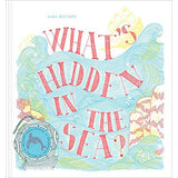 What's Hidden In The Sea? Book with Magic Glasses, front cover