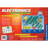 Electronics Learning Circuits Experiment Kit, back of box