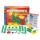 Electronics Learning Circuits Experiment Kit, with contents displayed