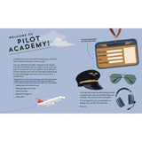 Pilot Academy welcome page