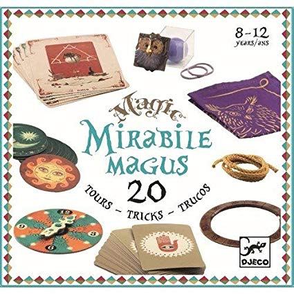 Magic Box - Mirabile Magus by Djeco, front cover