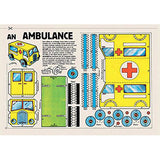 Vintage Paper Toys: 64 French Models To Make At Home, inside page, ambulance