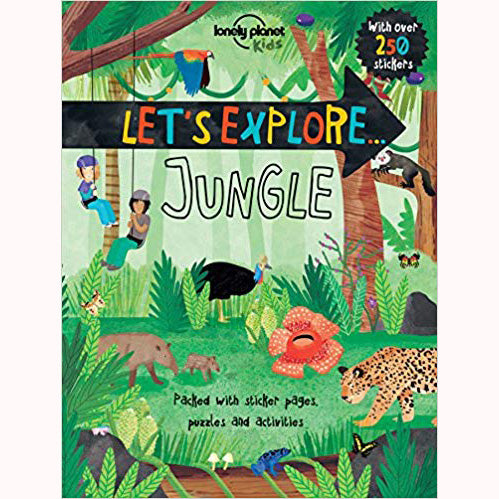 Let's Explore: Jungle - Lonely Planet Kids, front cover