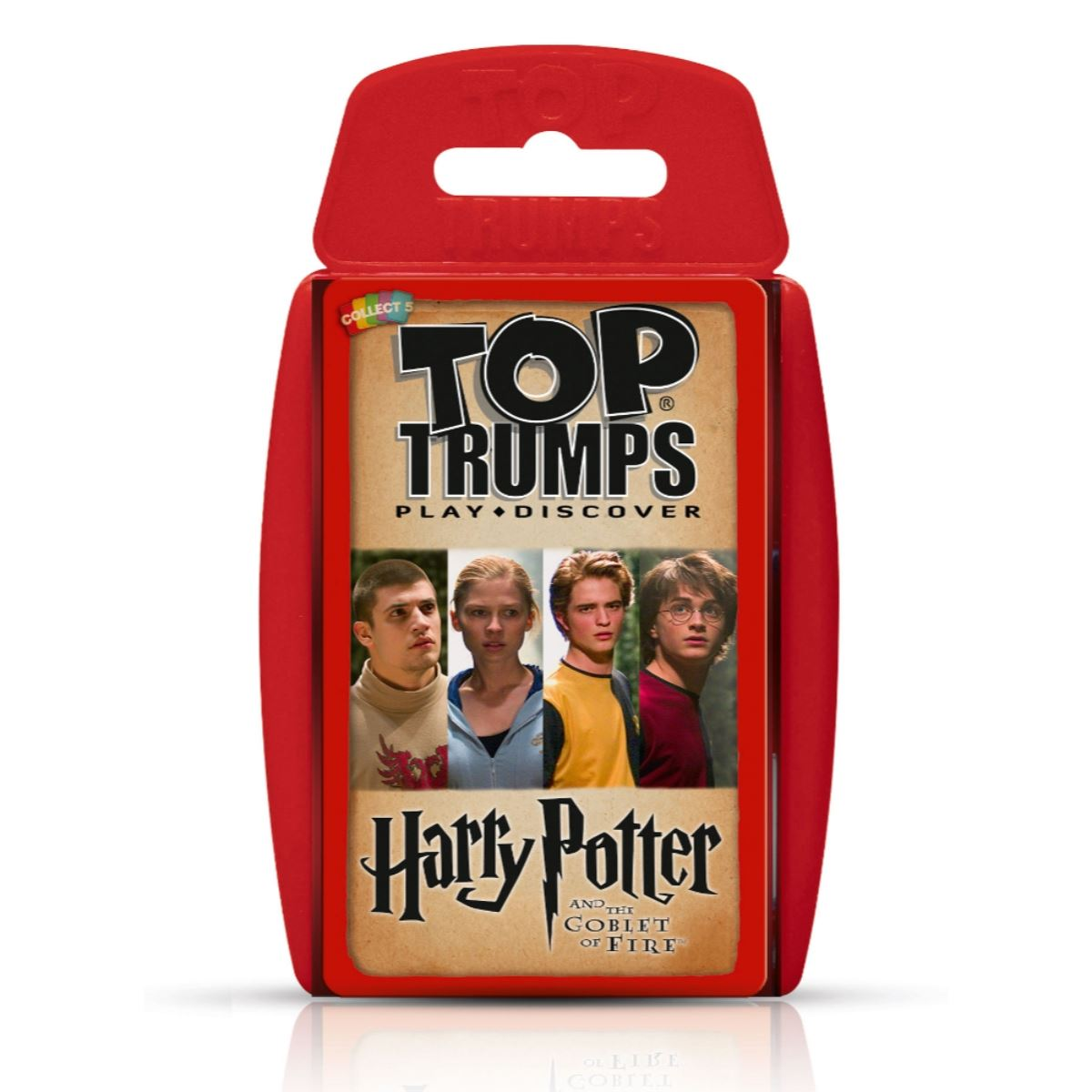 Harry Potter and the Goblet of Fire -Top Trumps Game, front of box