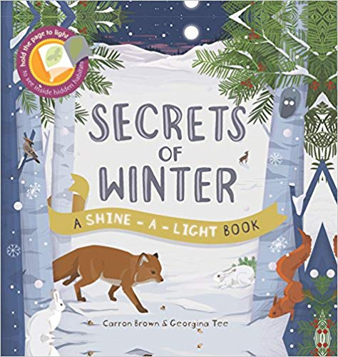 Secrets of Winter - A Shine-A-Light Book, front cover
