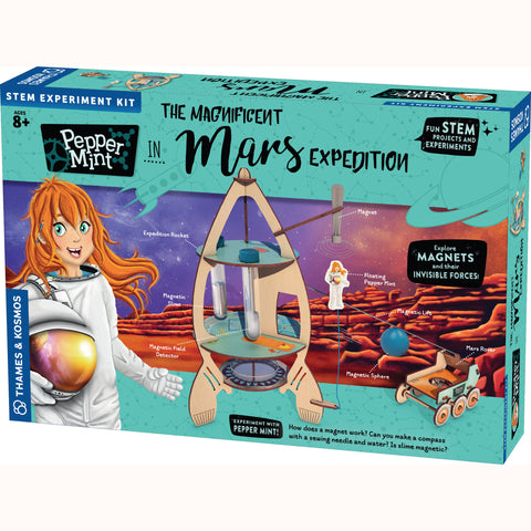 Pepper Mint - Magnificent Mars Adventure, front of box