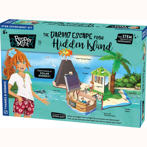 Pepper Mint - Daring Escape From Hidden Island, front of box