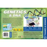 Genetics & DNA Experiment Kit back of box