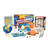Volcanoes & Earthquakes Experiment Kit contents