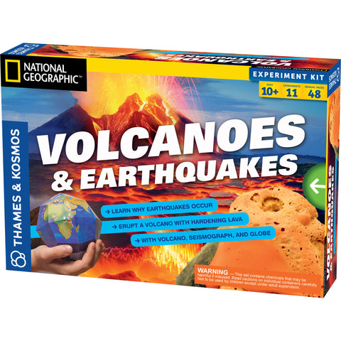Volcanoes & Earthquakes Experiment Kit
