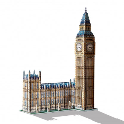 Big Ben & Parliament 3D Puzzle, 3d finished model view with shadow