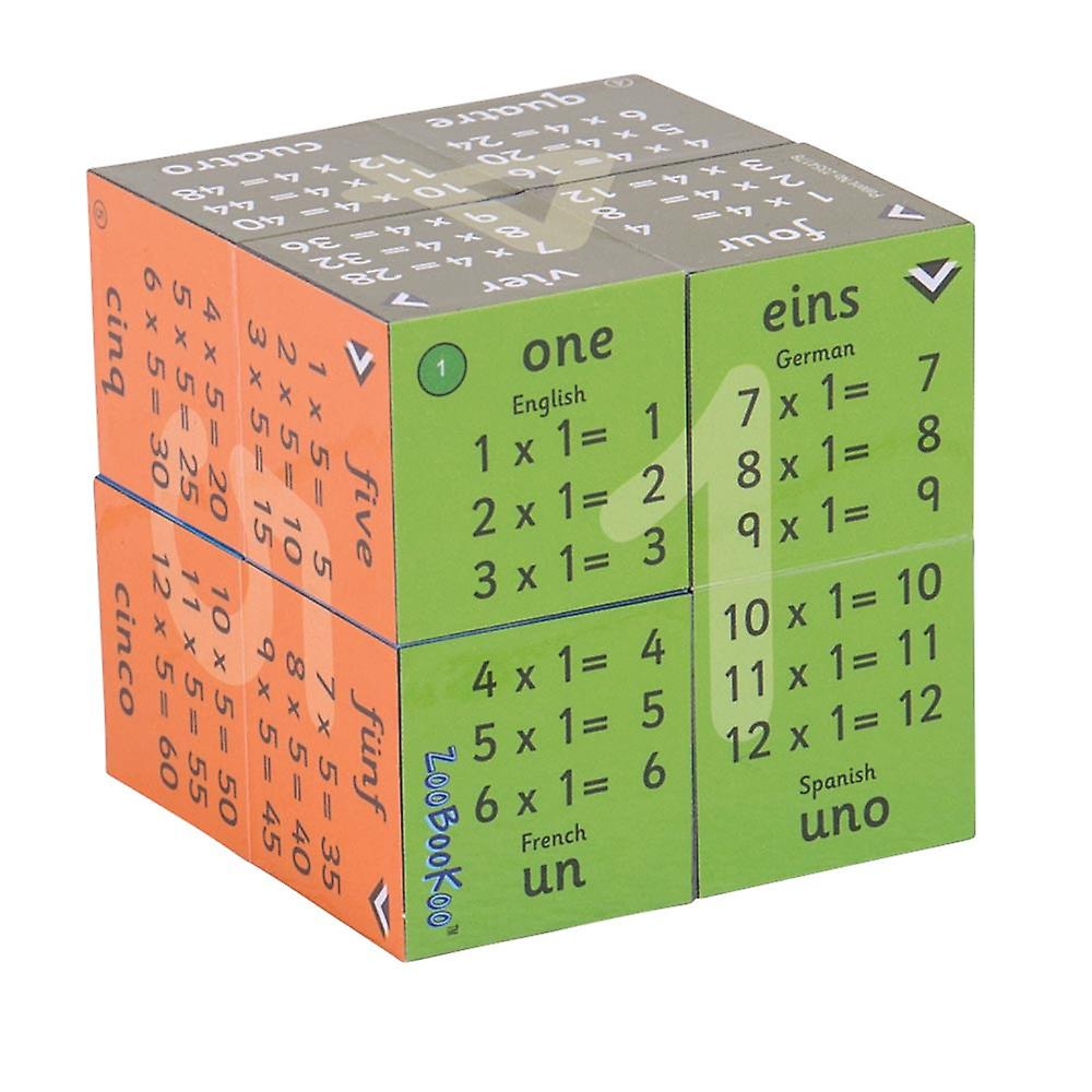 1 - 12 Times Tables Cube Book , out of packaging