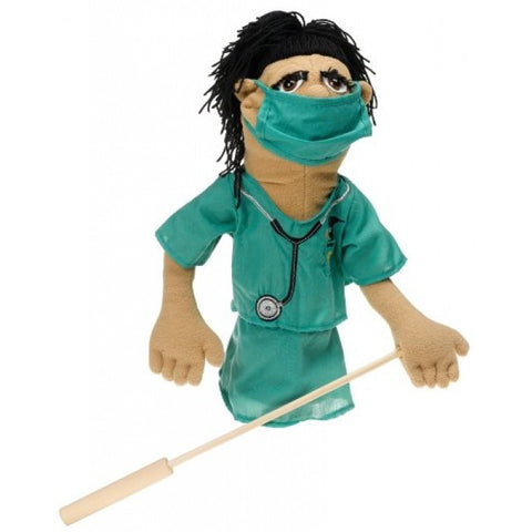 Doctor Susan - Surgeon puppet with detachable rod