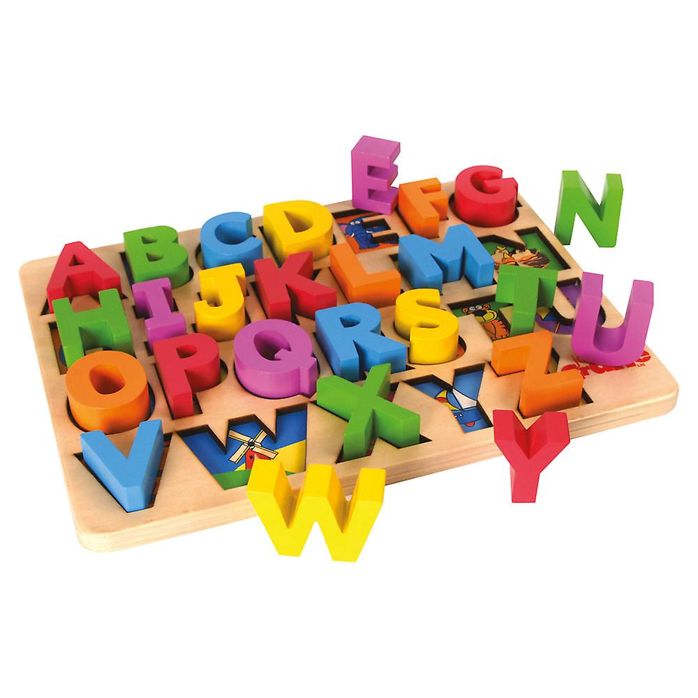 abc board unboxed different letters exposed