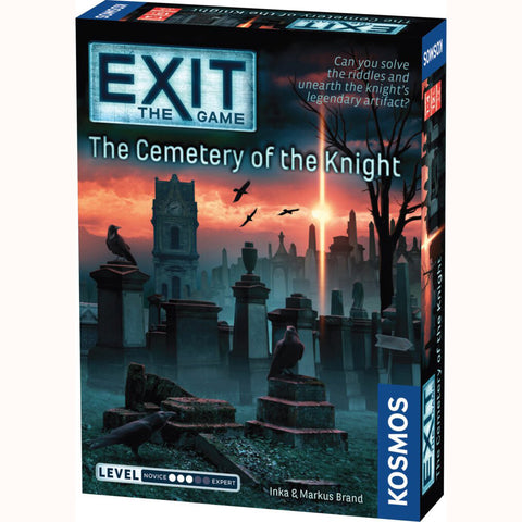 EXIT The Game - The Cemetery Of The Knight, front of box