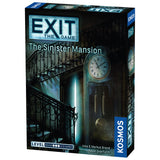 EXIT The Game - The Sinister Mansion, front of box